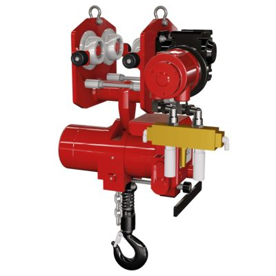 Air Chain Hoist with pneumatic blocker, Red Rooster TCR / TCS series